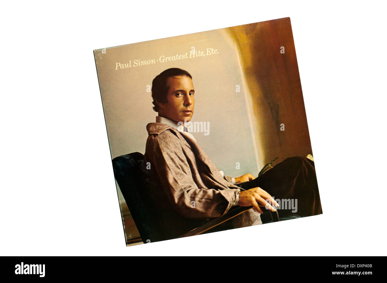 Greatest Hits, Etc. was a compilation album by American singer-songwriter Paul Simon, released in 1977 by Columbia Records - Stock Image