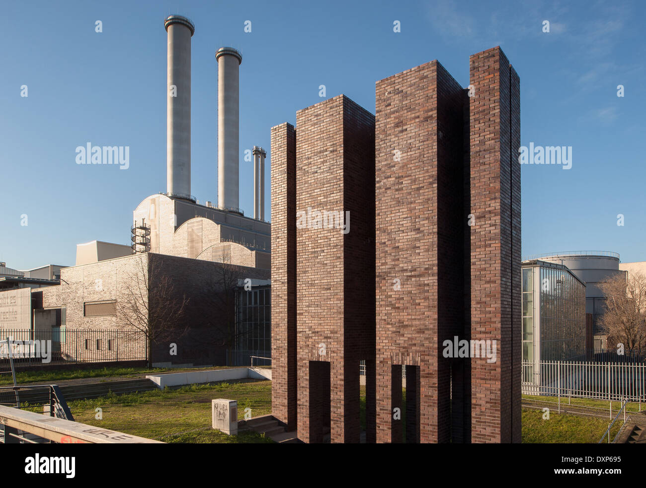 Berlin, Germany, thermal power station Berlin-Mitte Stock Photo