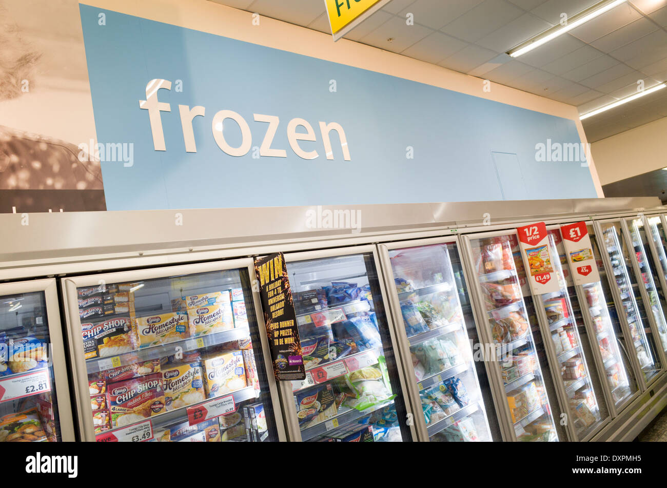 Freezer Section Stock Photos & Freezer Section Stock Images - Alamy