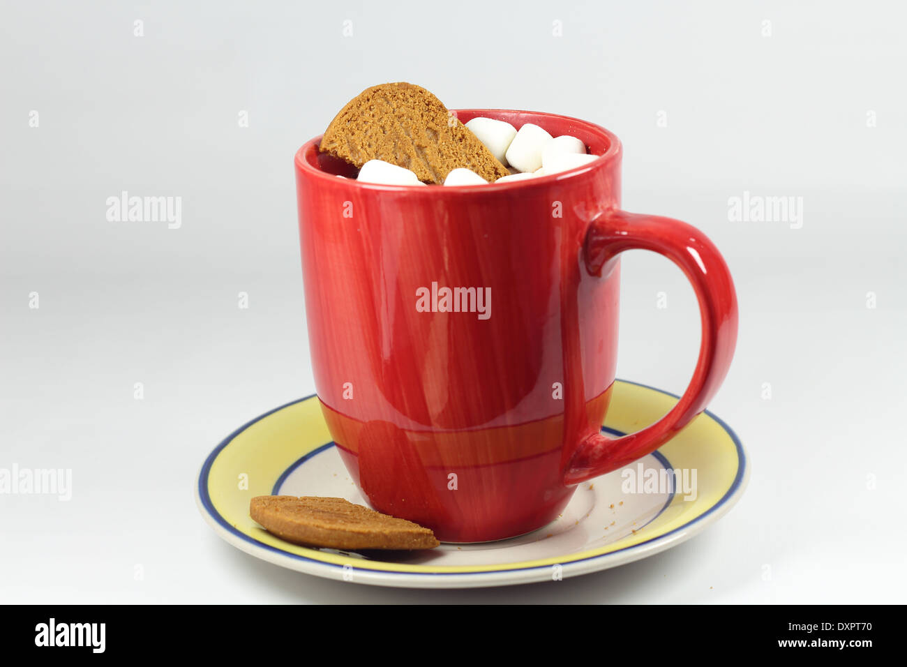 Cure Winter Blues with some hot cocoa - Stock Image