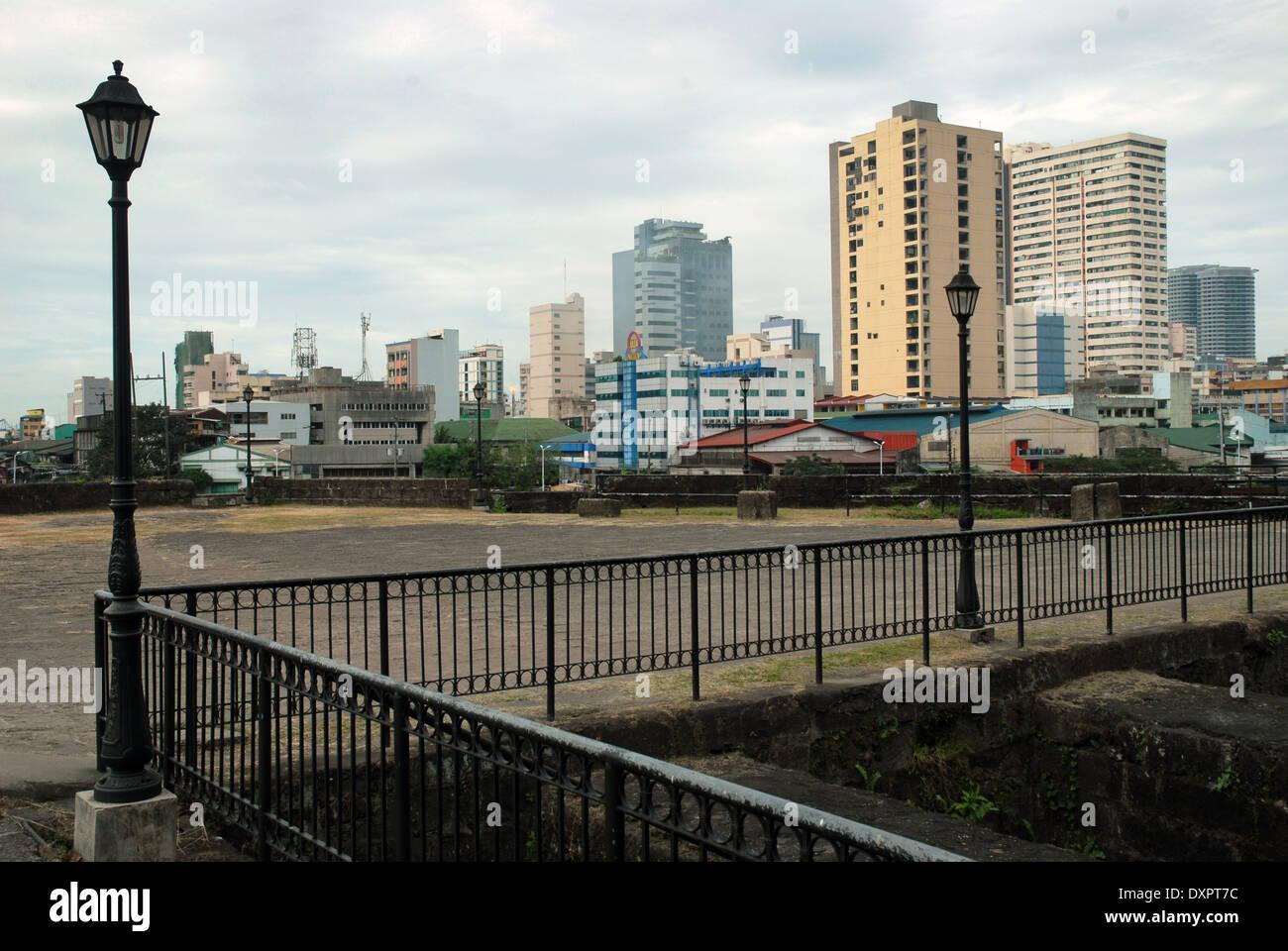 Fort Santiago, Manila, Luzon, Philippines. - Stock Image