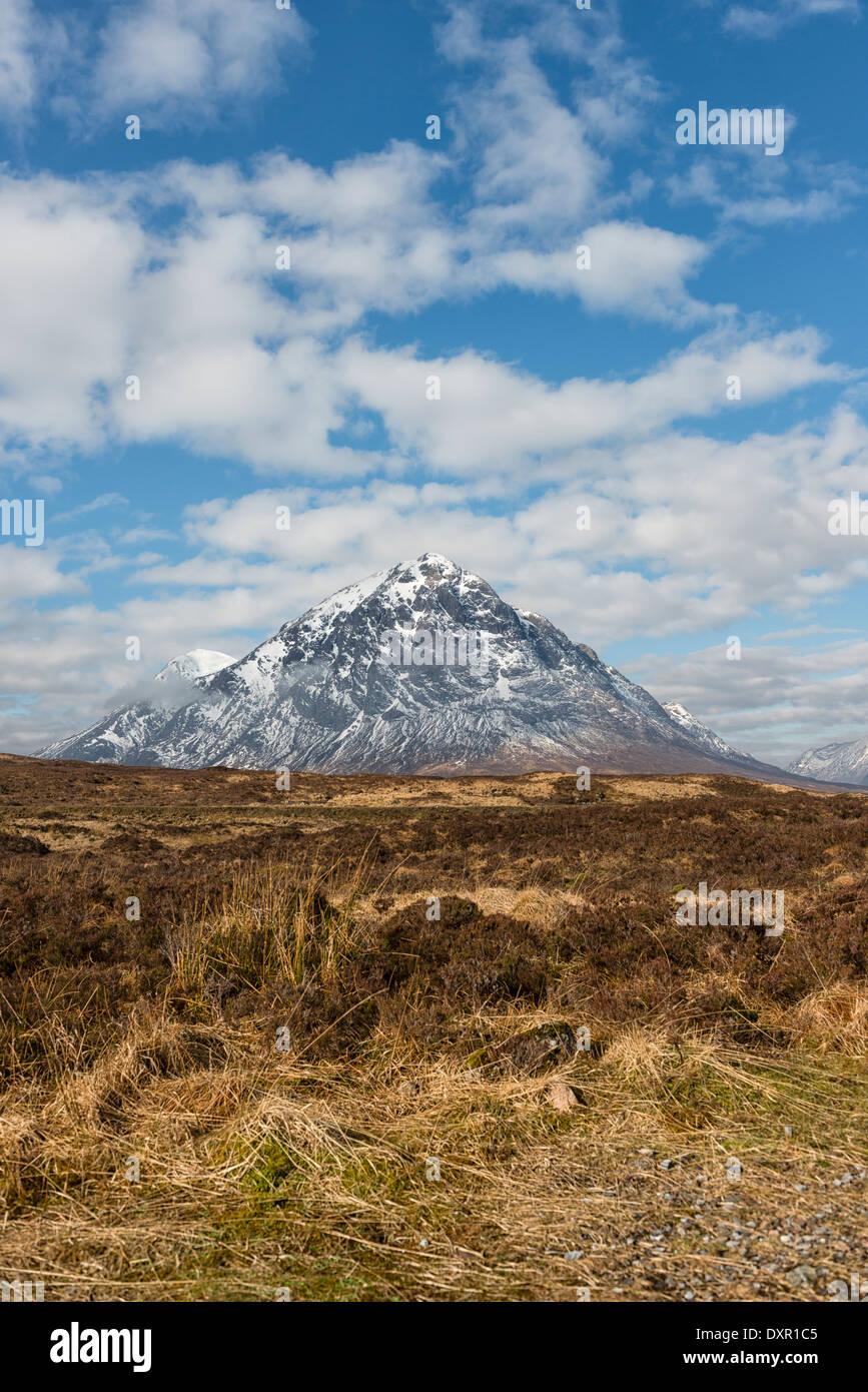Stob Dearg the main peak of Buachaille Etive Mor - Stock Image
