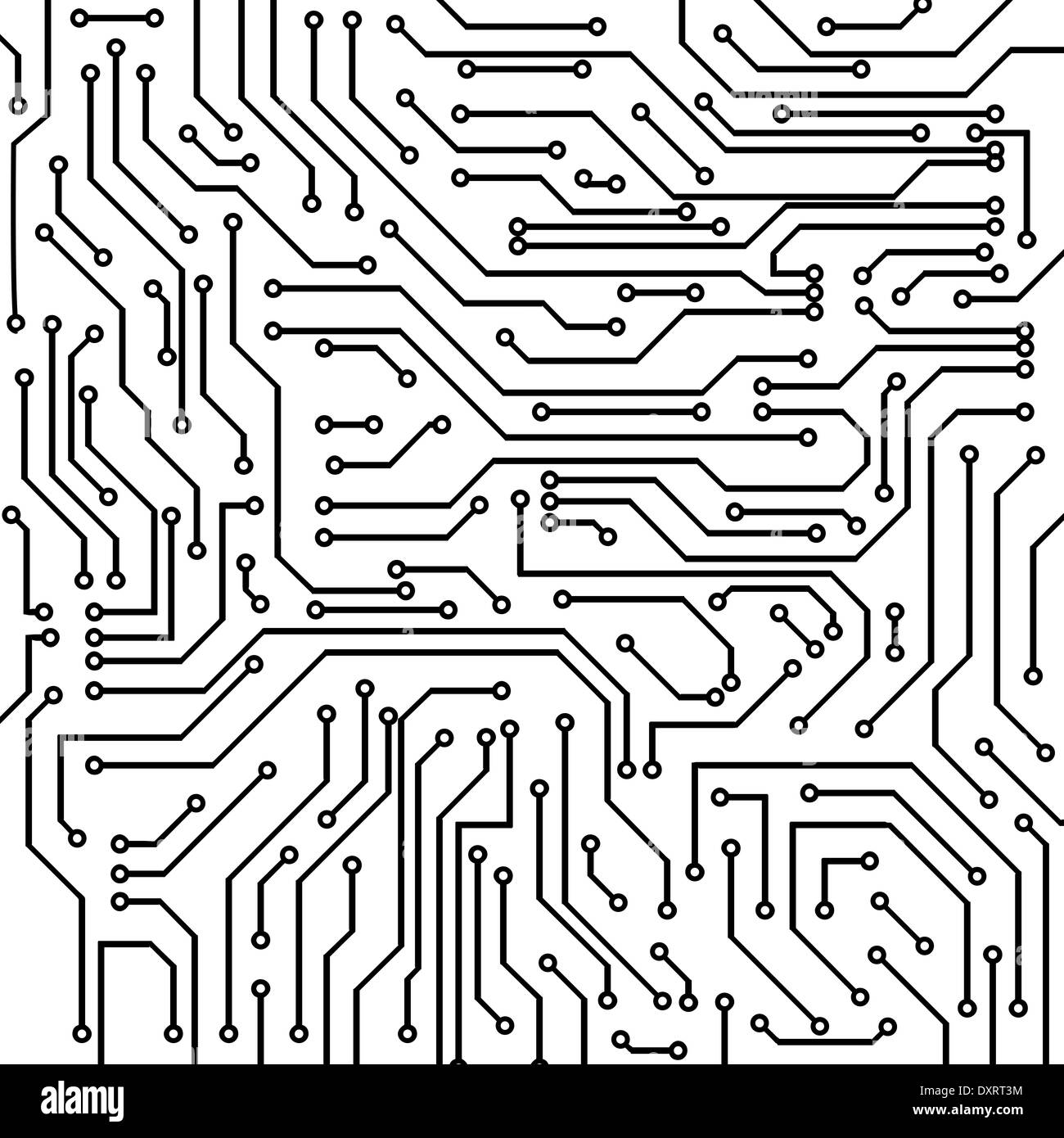 Circuit board vector background Stock Photo: 68135976 - Alamy