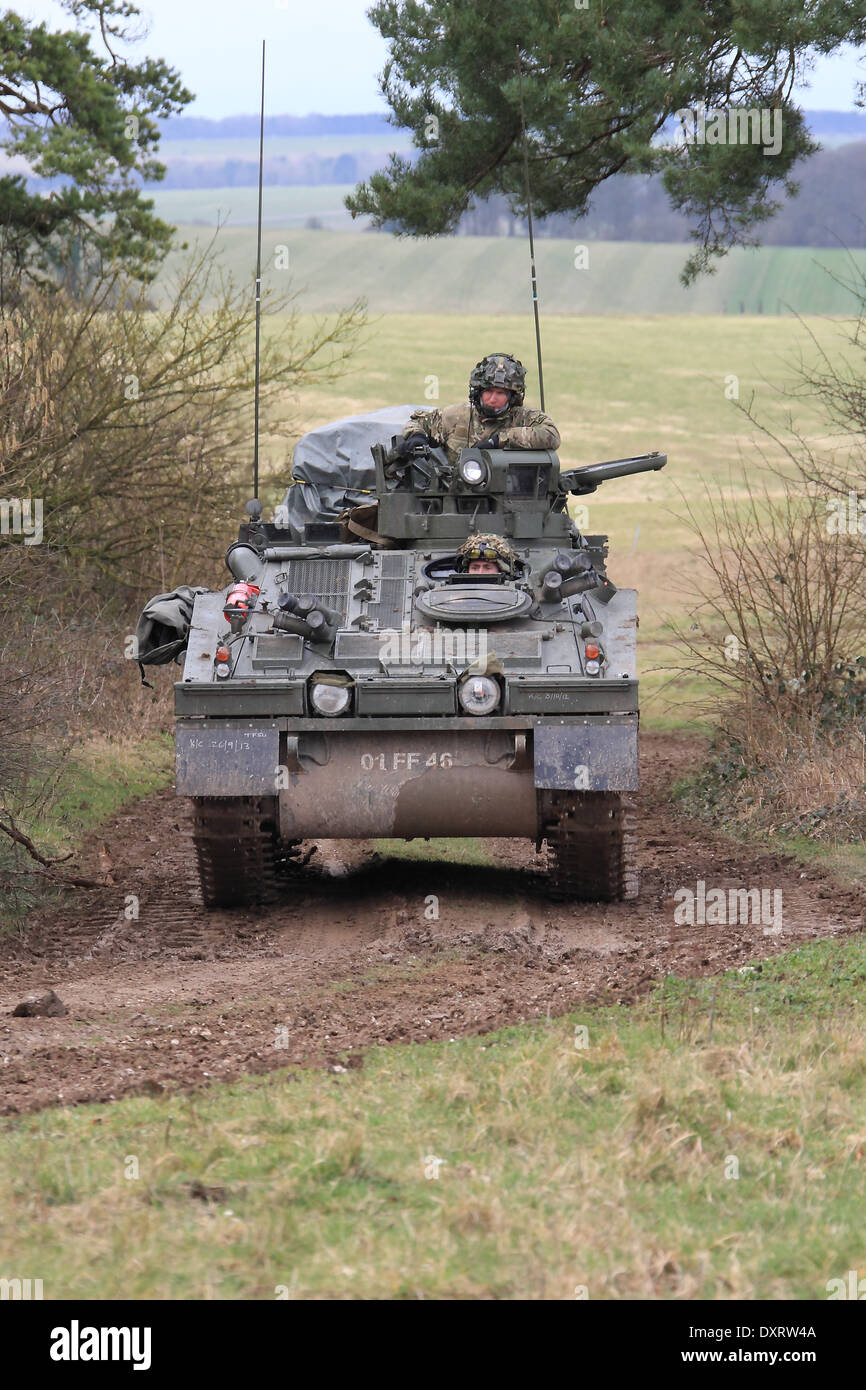 Spartan Apc Tracked Vehicle Army Stock Photos & Spartan Apc Tracked