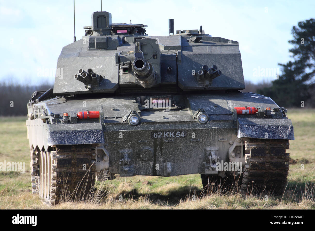 ac83a4ee337e Royal Wessex Yeomanry Challenger 2 Main Battle Tank on exercise on the  Salisbury Plain Training Area