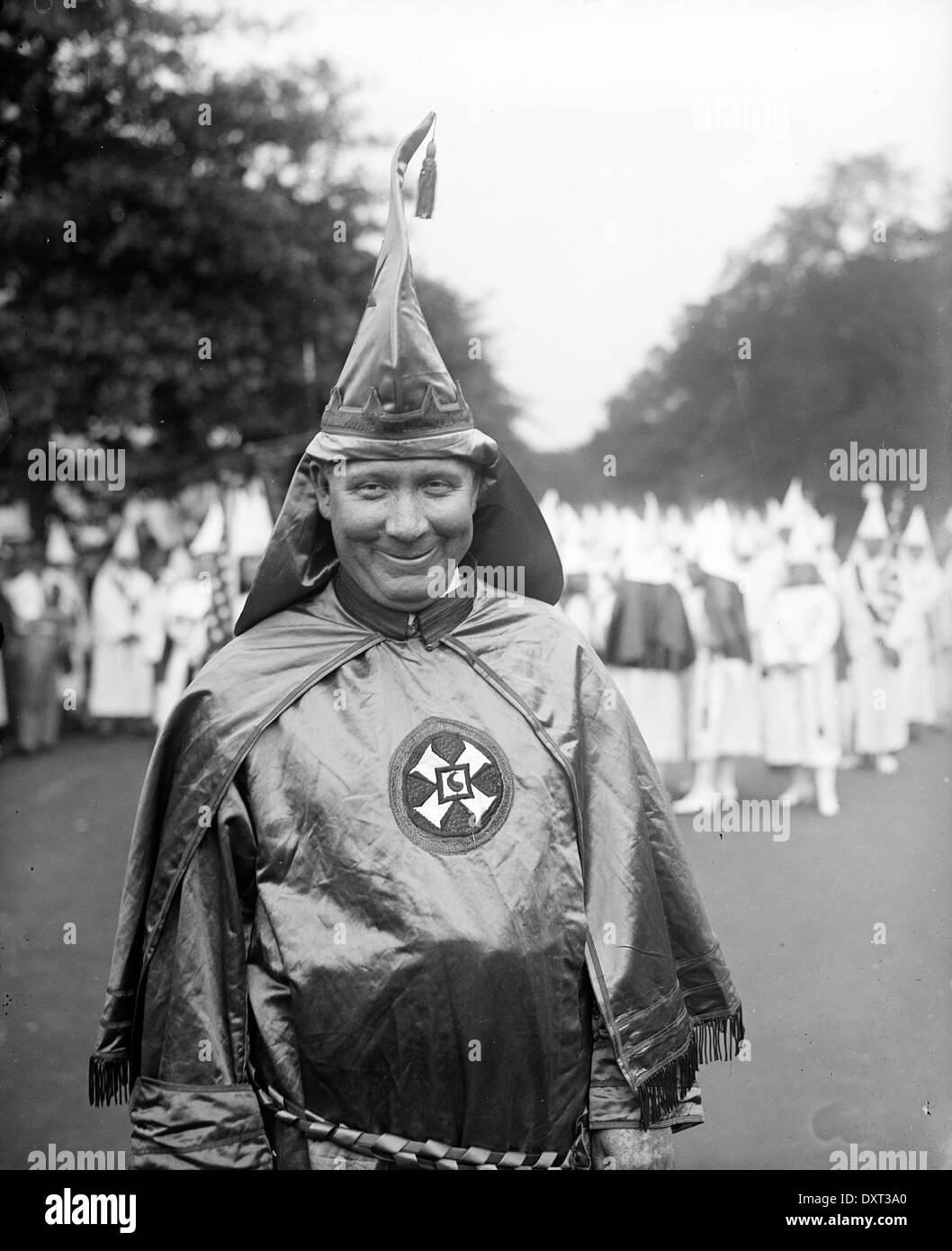 Ku Klux Klan member, United States of America - Stock Image