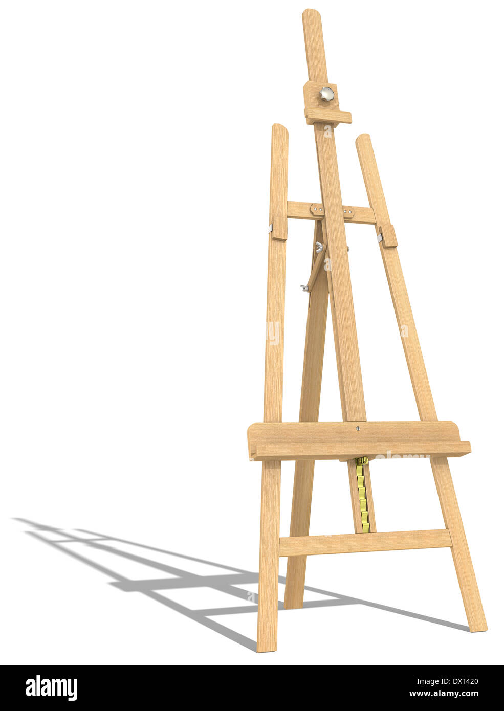 side view of an easel hard shadow stock photo 68142200 alamy