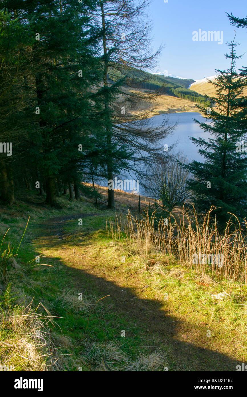 Glen Sherup in the county of Perth & Kinross, Scotland ,UK. - Stock Image