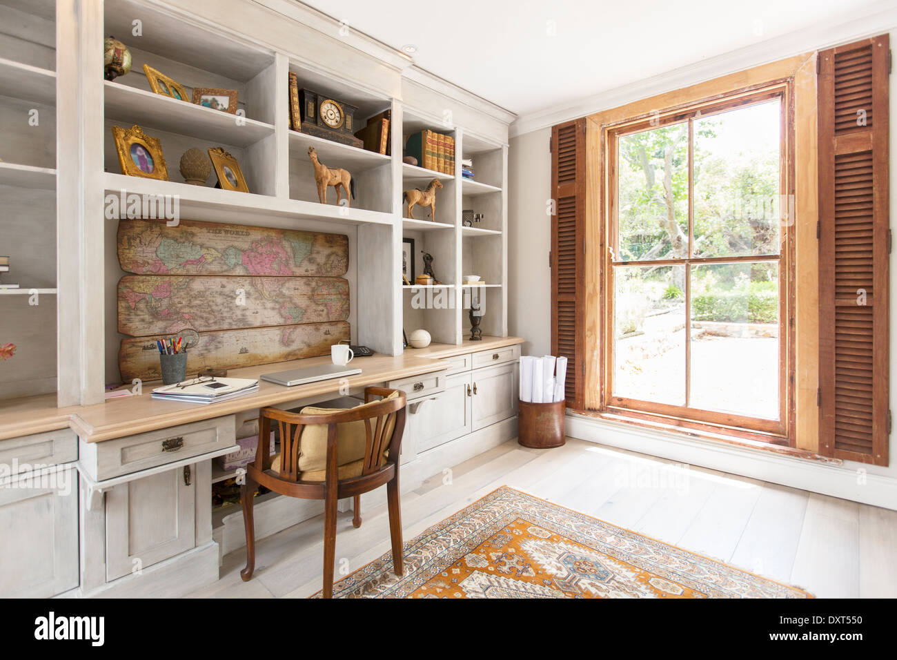 Luxury Home Office Stock Photo: 68143068   Alamy