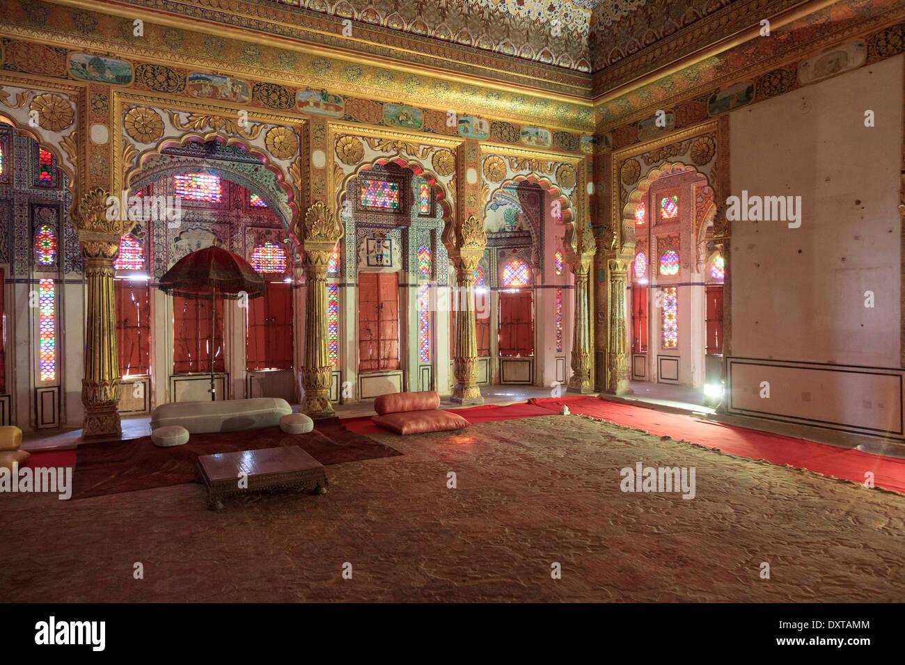 India, Rajasthan, Jodhpur, Mehrangarh Fort - Stock Image