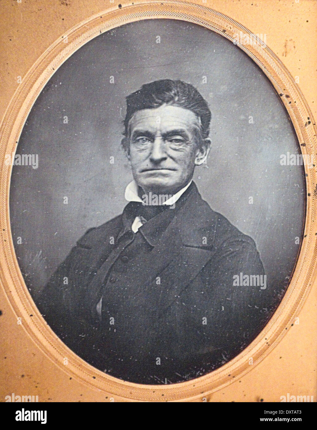 John Brown, American abolitionist, circa 1830 - Stock Image