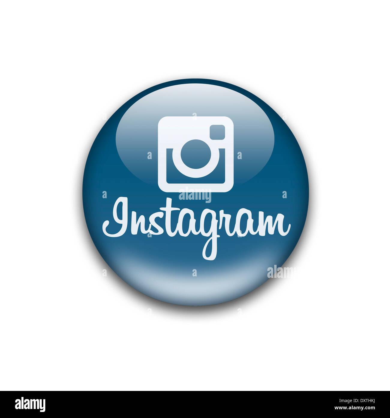 Instagram Logo Icon Symbol Flag Emblem Stock Photo 68152886 Alamy