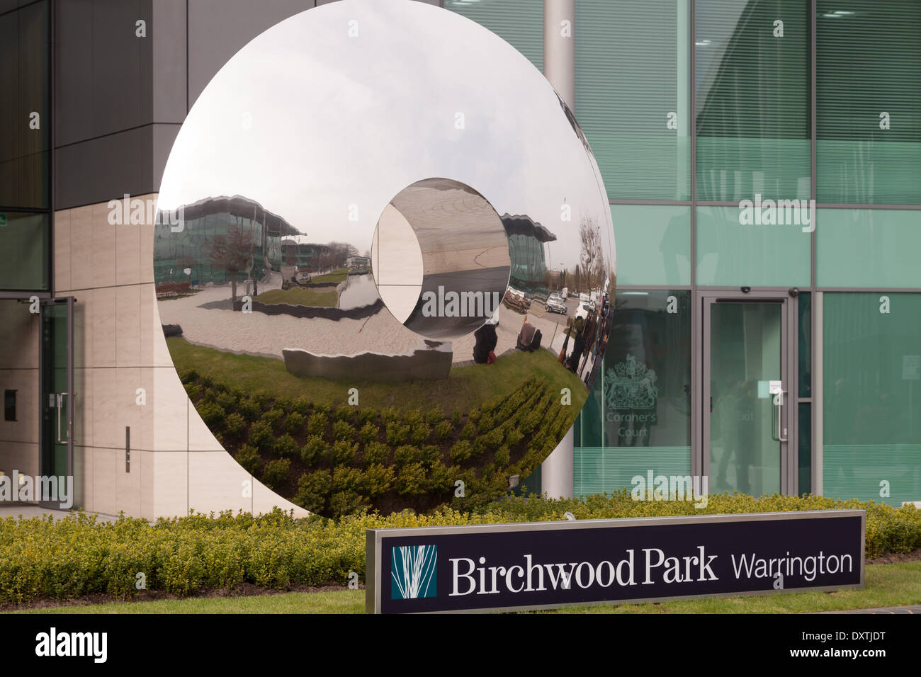 Warrington, Cheshire, UK. 31st Mar, 2014. 305 Bridgewater Place at Birchwood Park in Warrington, chosen as the venue for fresh inquests into the Hillsborough disaster. Credit:  Adam Vaughan/Alamy Live News - Stock Image
