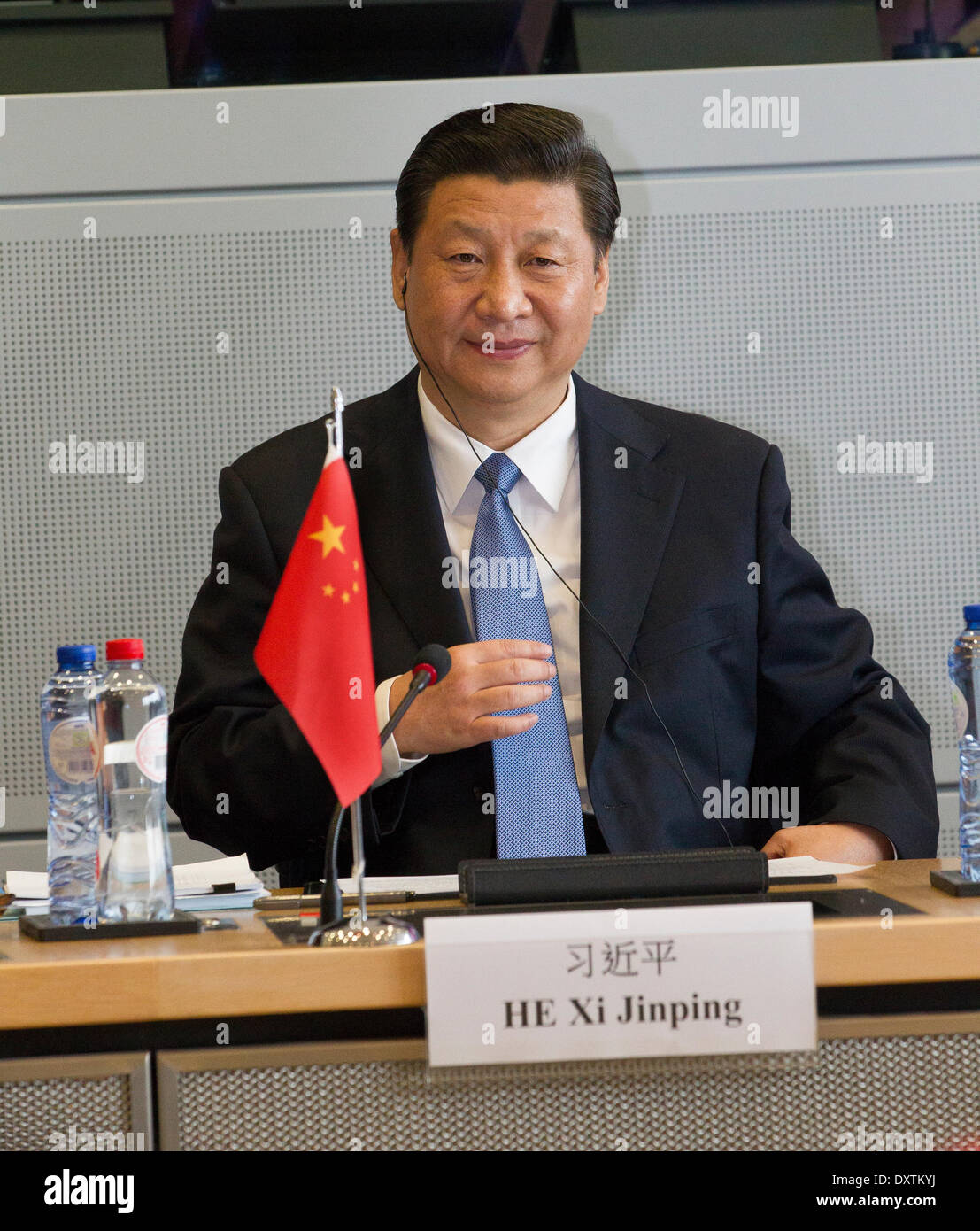President Xi Jinping People's Republic of China - Stock Image