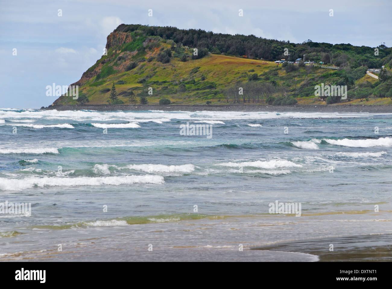 Seven Mile Beach in Lennox Head in Australia - Stock Image