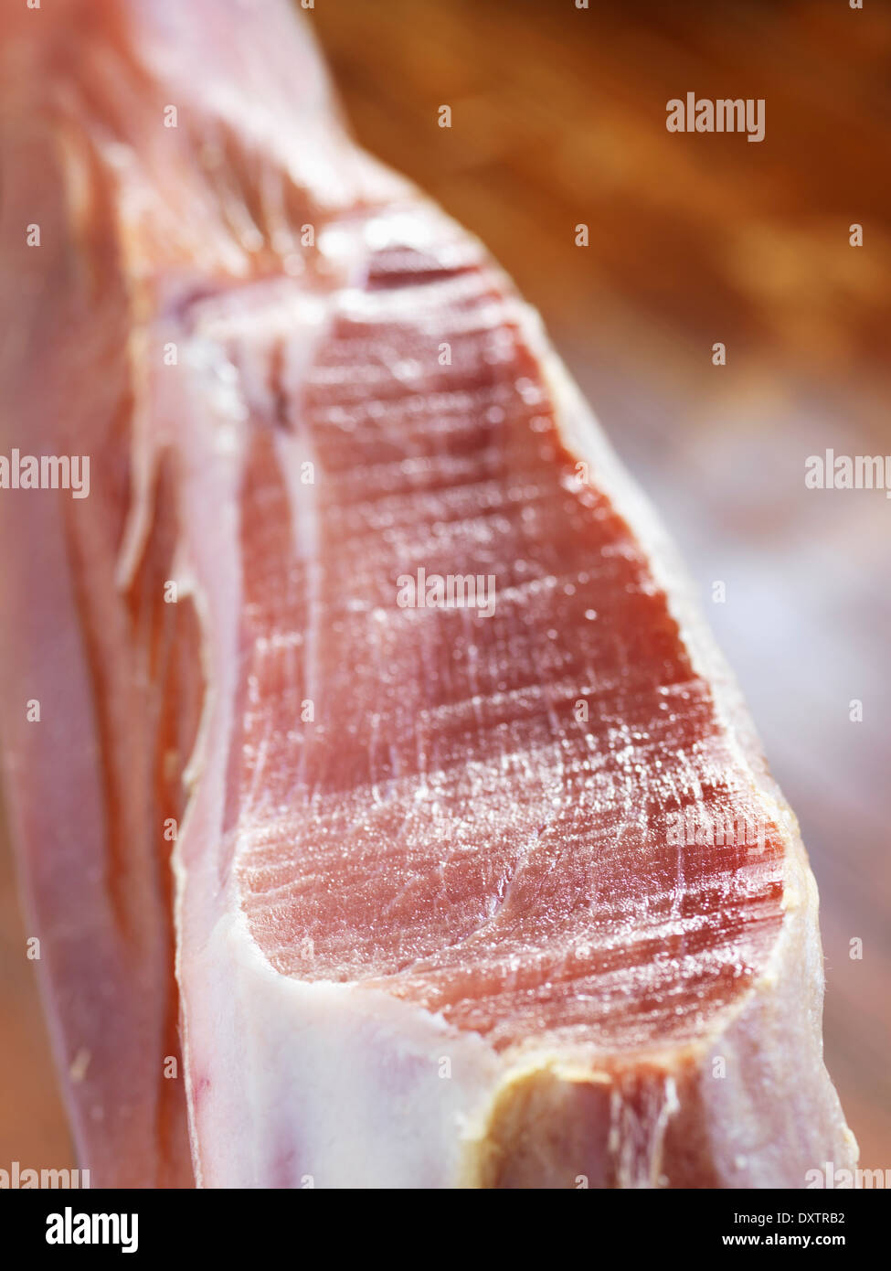 Serrano ham - Stock Image