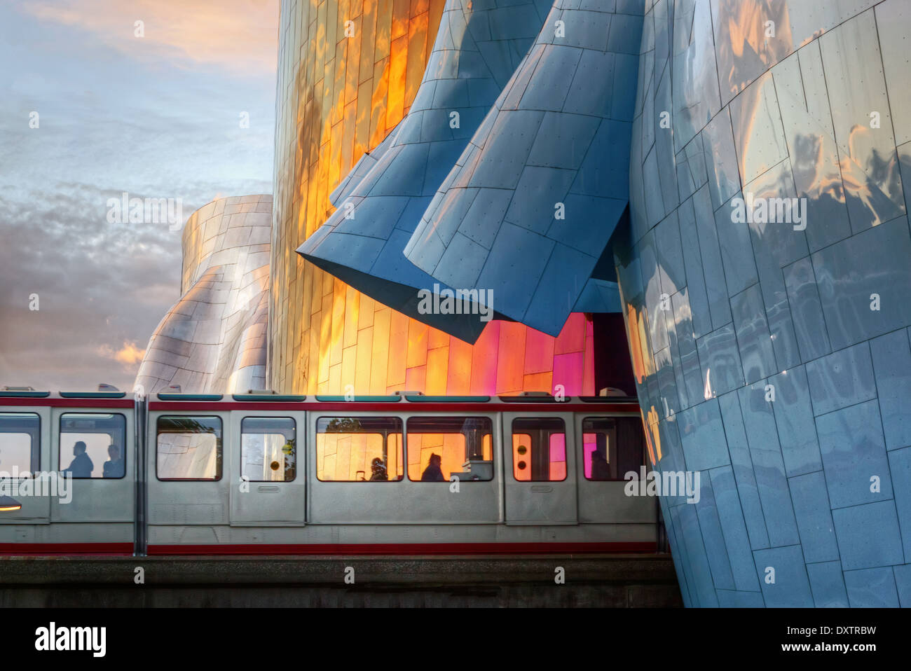 Seattles Monorail - Stock Image
