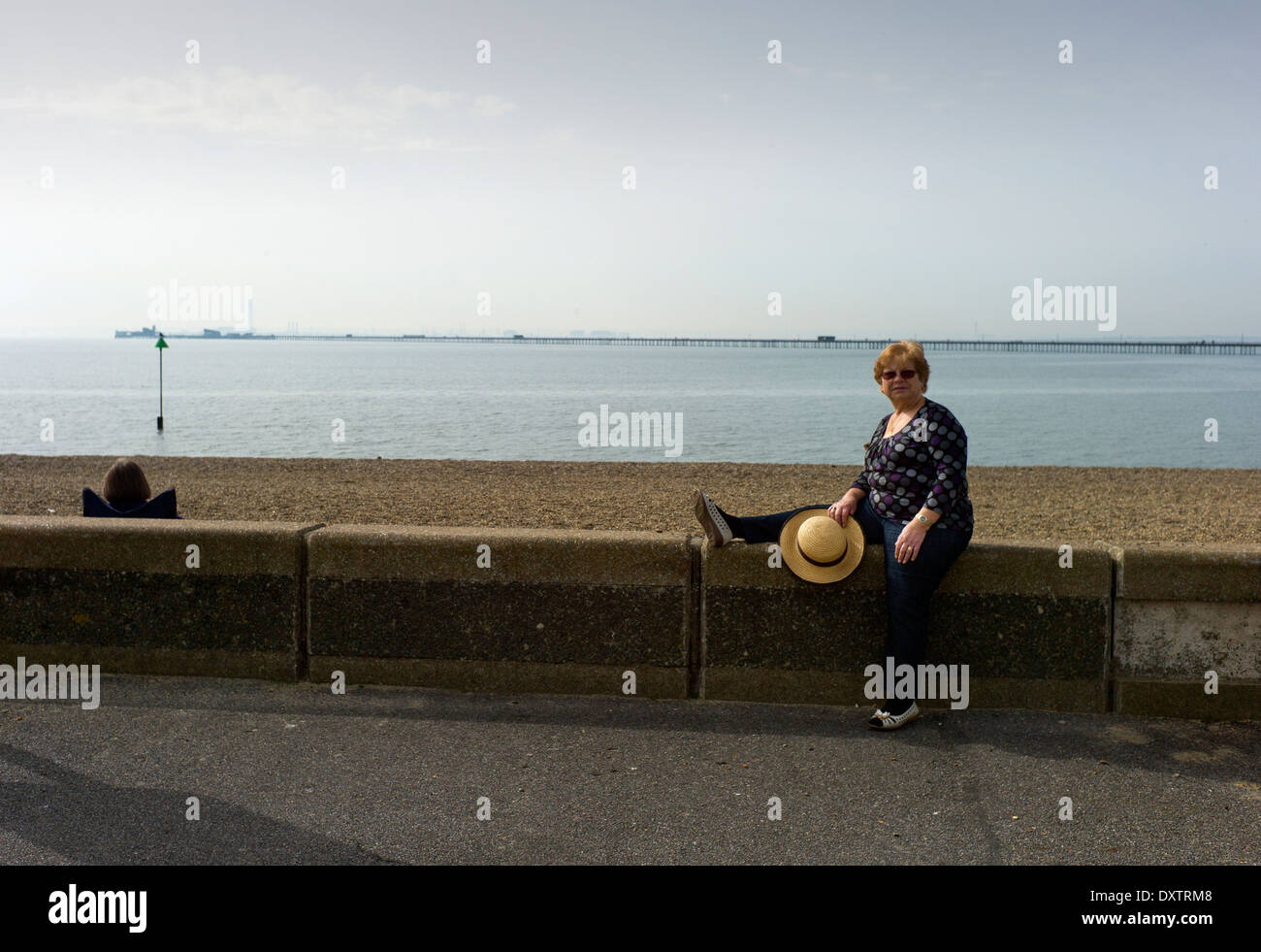 Southend-on-Sea, Essex, England. 30 March 2014 - Stock Image