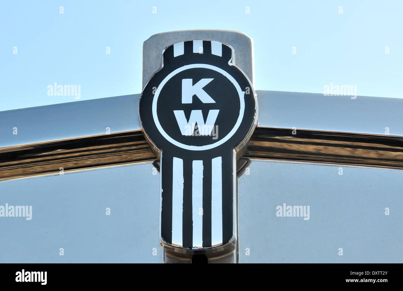 Kenworth truck logo - Stock Image
