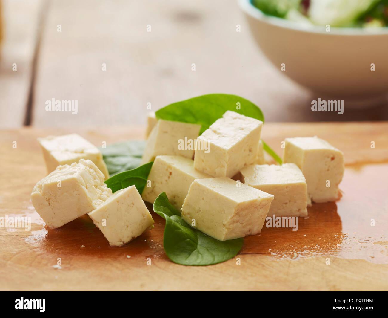 Tofu - Stock Image