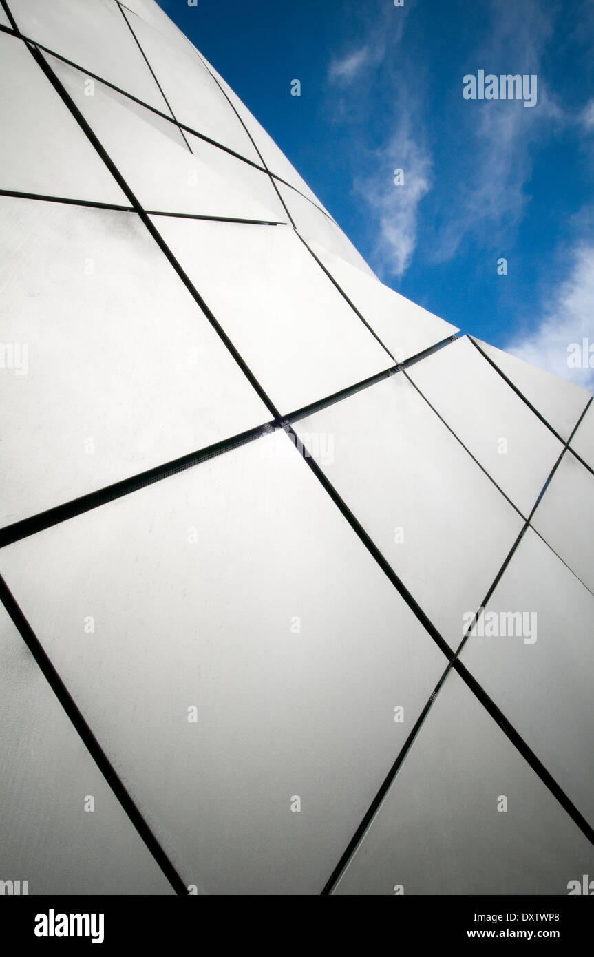 modern architecture building buildings contemporary architecture architects architect striking design designs The Arc, Bury St E - Stock Image