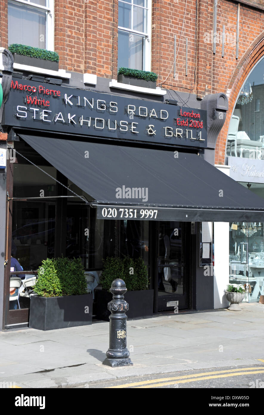 The Marco Pierre White Kings Road Steakhouse and Grill restaurant in ...