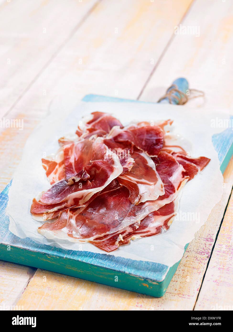 Spanish cold cuts Stock Photo