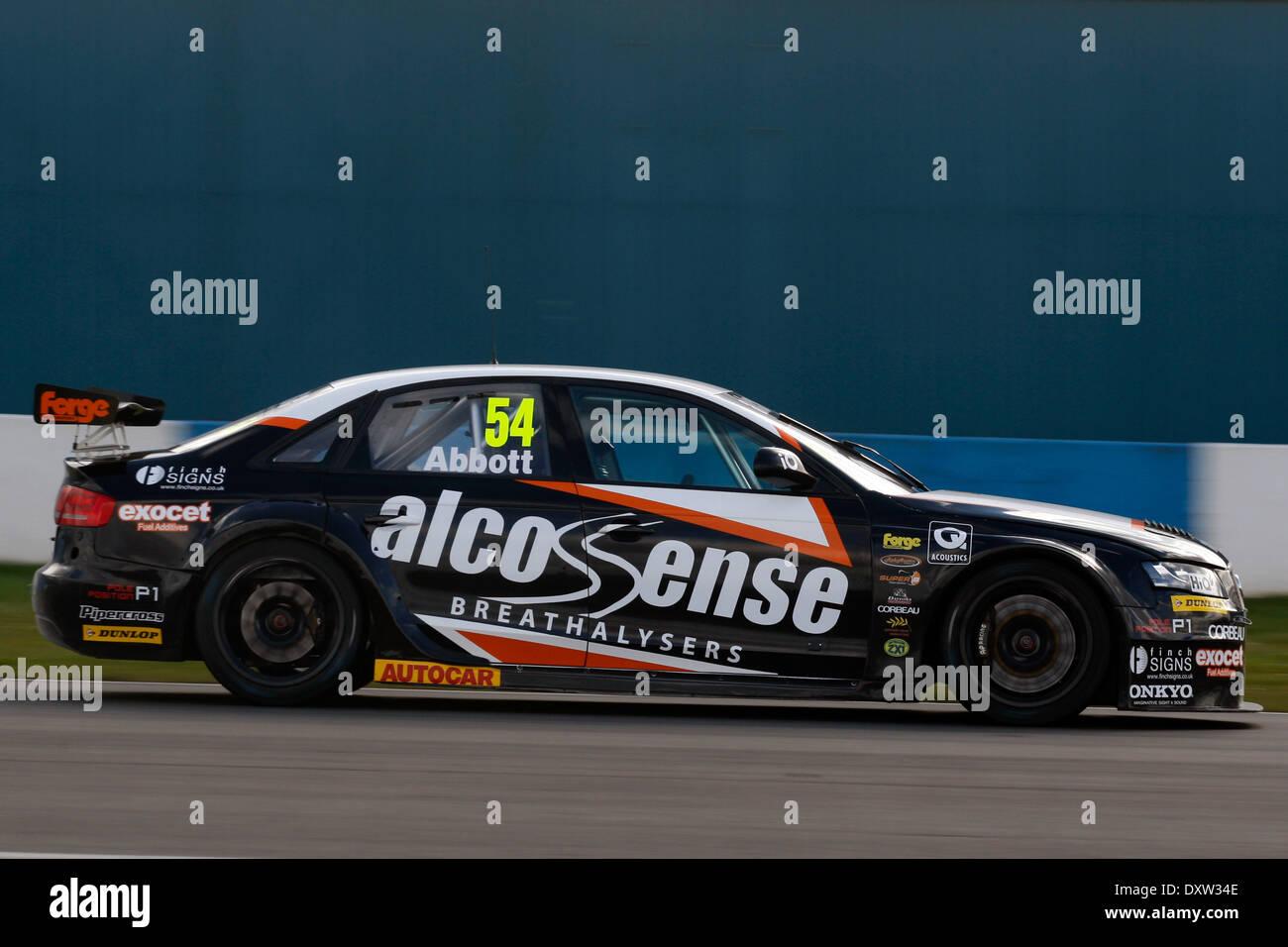 Hunter Abbott GBR Exocet Racing Audi A4