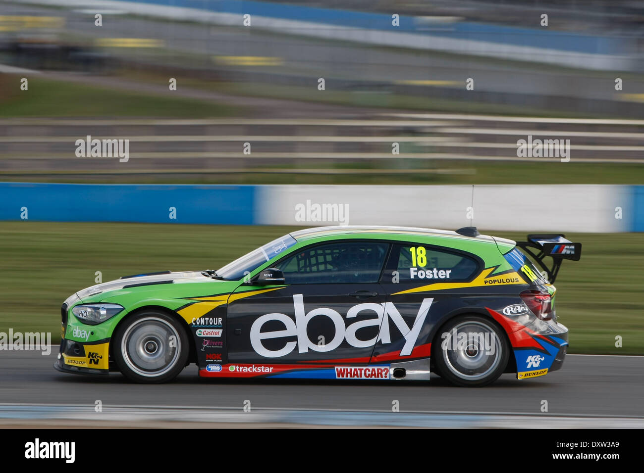 Nick Foster (GBR) eBay Motors BMW 125i M Sport Stock Photo: 68163601 ...