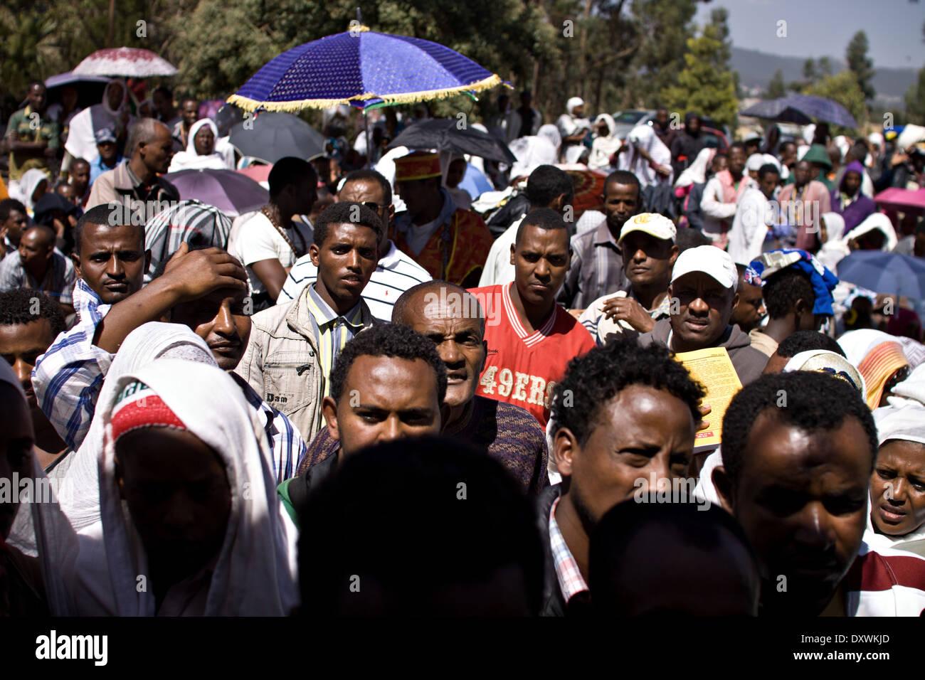 Ethiopians, Africans - Stock Image