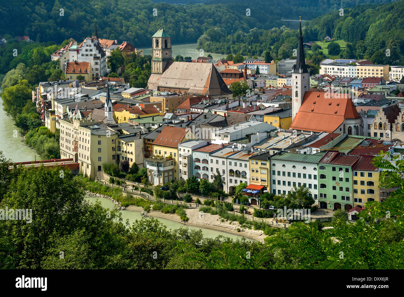 Wasserburg Am Inn Germania townscape of wasserburg am inn, upper bavaria, bavaria