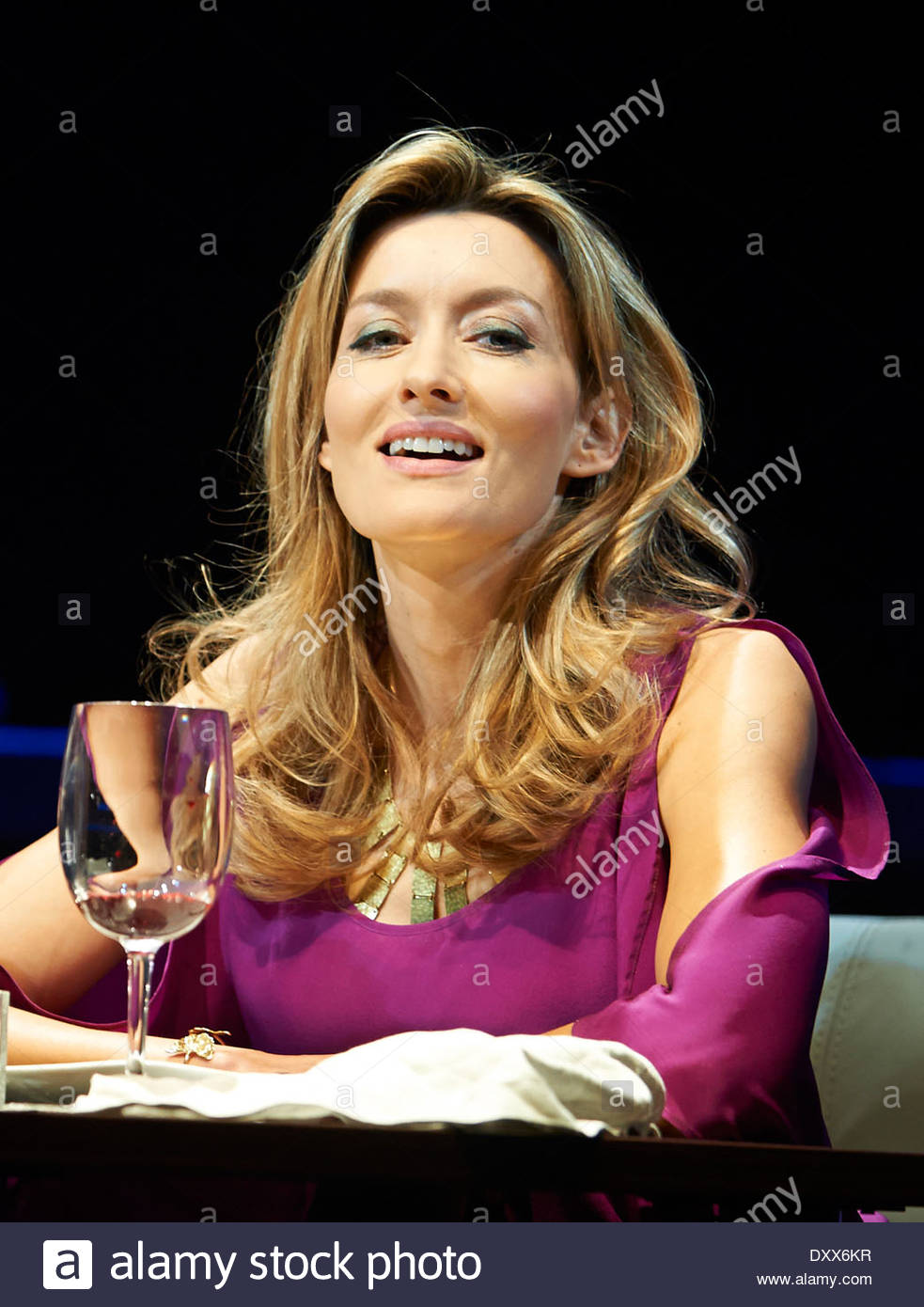 Fatal Attraction. World Stage Premier written by James Dearden, directed by Trevor Nunn. With Natascha McElhone as Alex Forrest. Opens at The Theatre Royal Haymarket on 25/3/14 - Stock Image