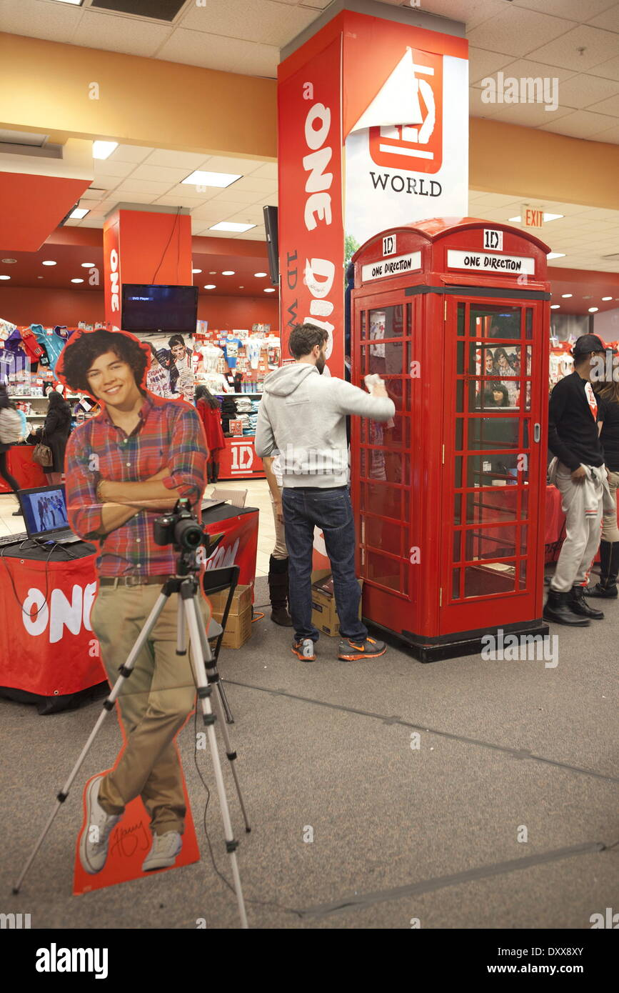 One Direction fans visit the new '1D World' Pop Up Store