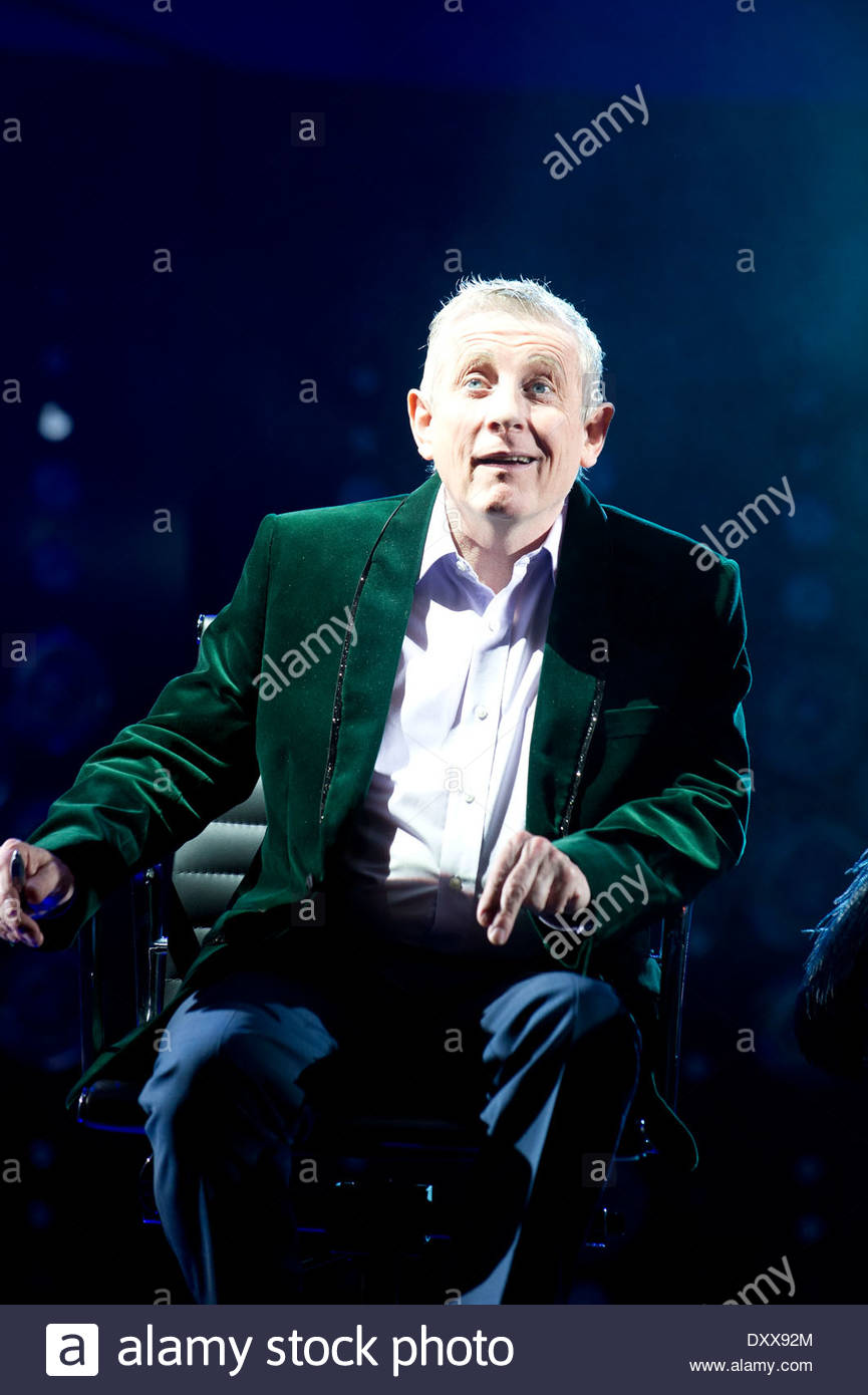 I Can't Sing ! by Harry Hill and Steve Brown, directed by Sean Foley. With Ashley Knight as Louis. Opens at The London Palladium on 26/3/14 - Stock Image