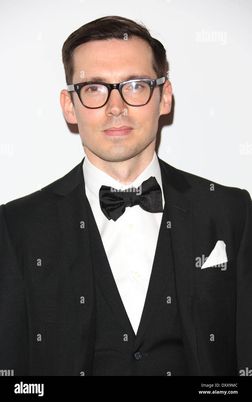 Erdem Moralioglu The British Fashion Awards 2012 held at The Savoy - arrivals London England - 27.11.12 Featuring: Erdem Moralioglu Where: London United Kingdom When: 27 Nov 2012 - Stock Image