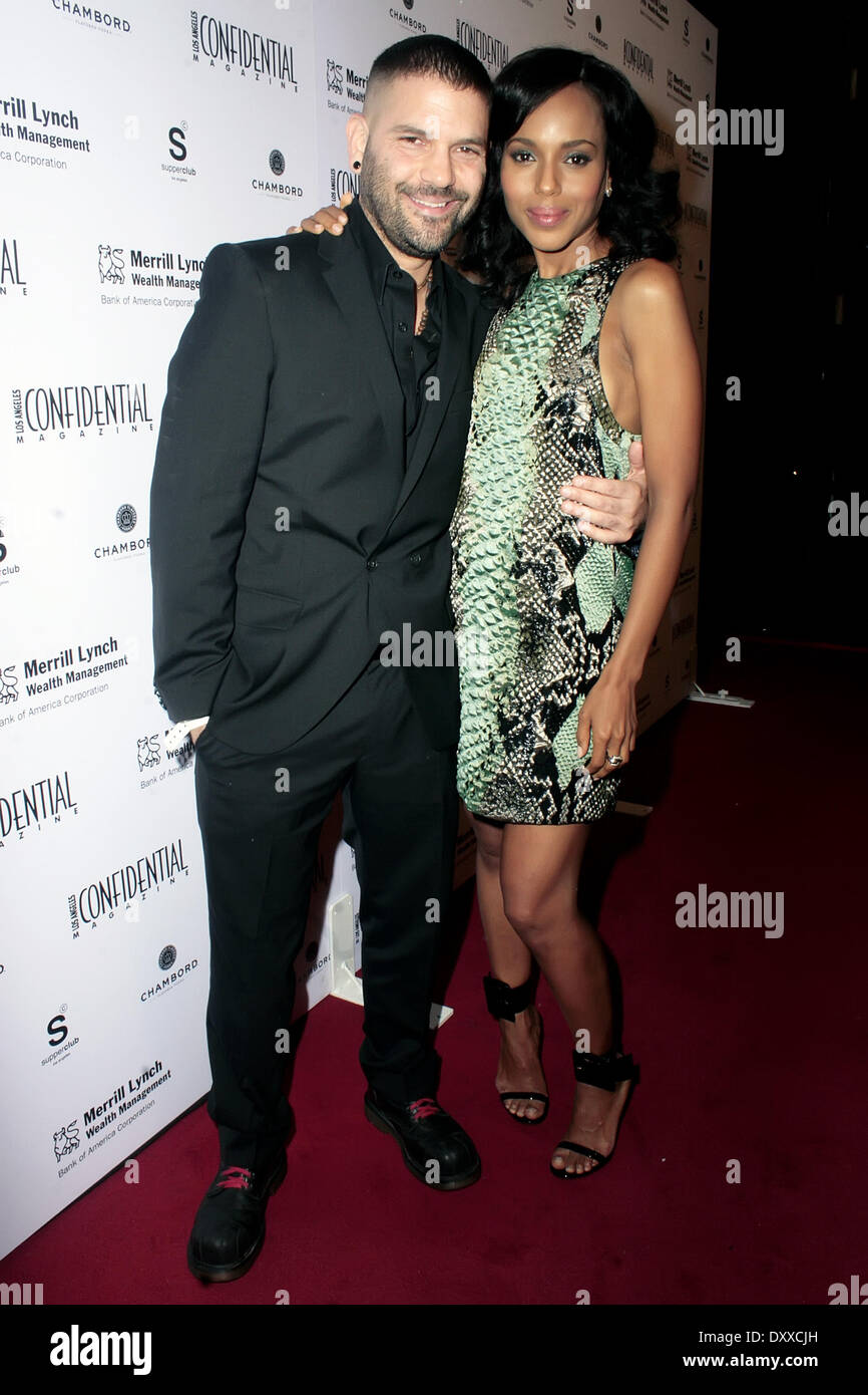 guillermo diaz and kerry washington los angeles confidential