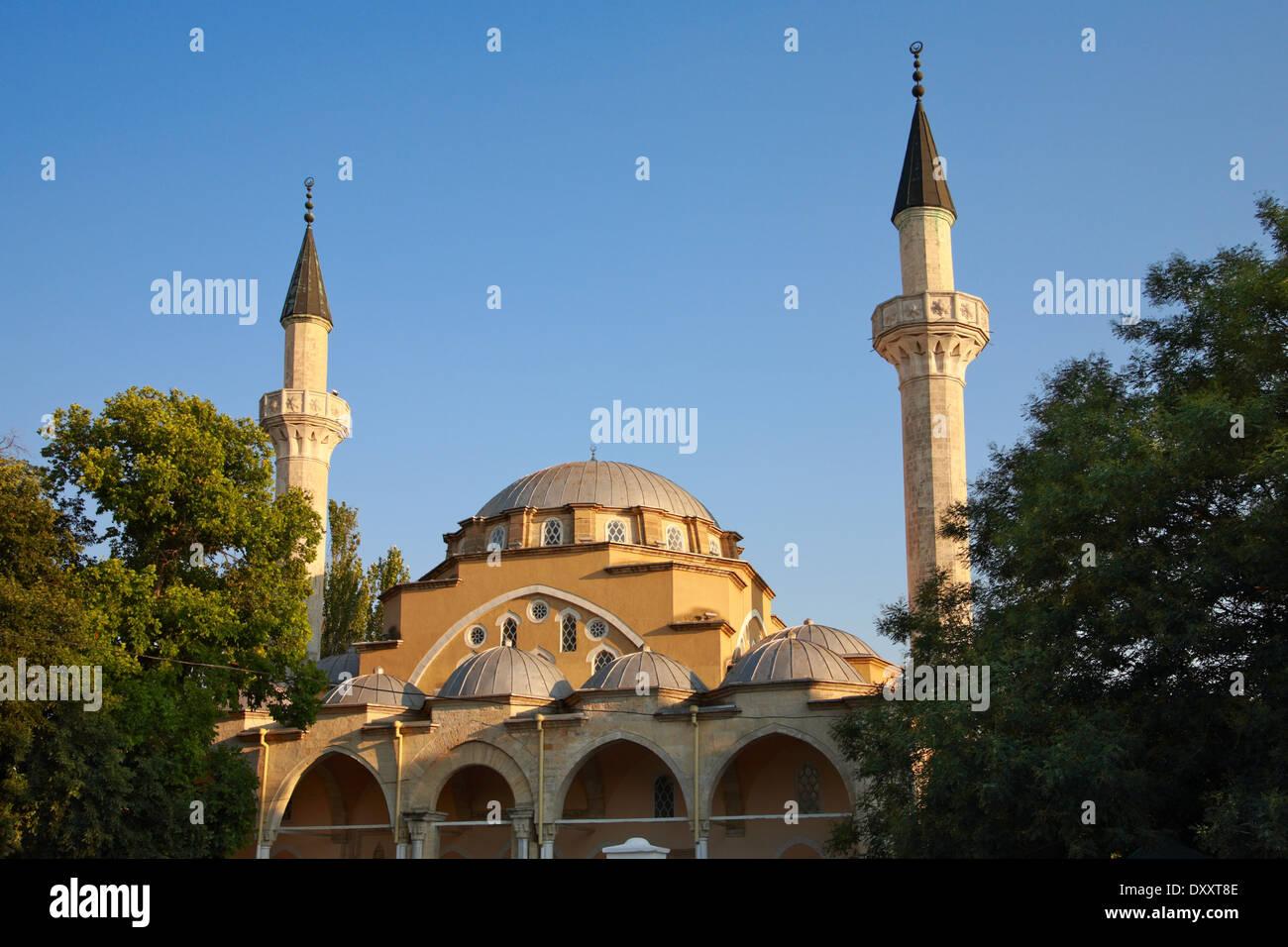 Juma-Jami Mosque (Jami Khan) Devlet Giray Khan founded in 1552 - Stock Image