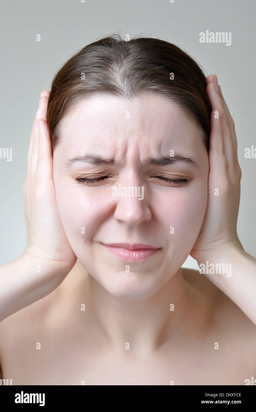 Noise pollution - Stock Image