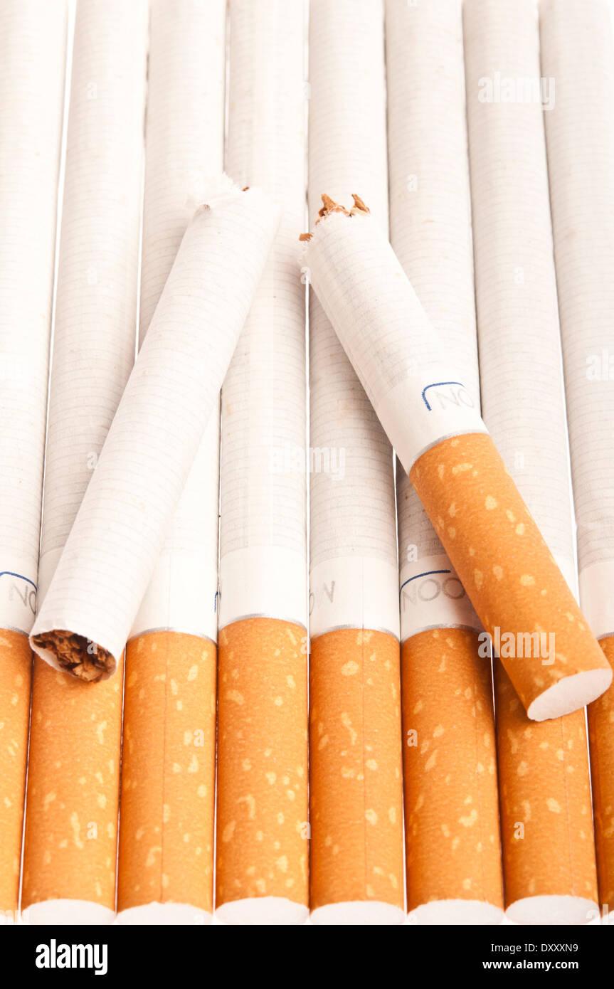 quit smoking concept - Stock Image