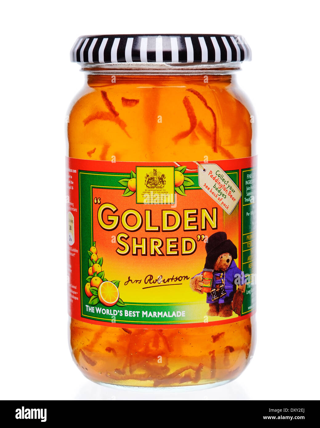 Robertsons Golden Shred Marmalade, a Traditional and Popular British Food. - Stock Image