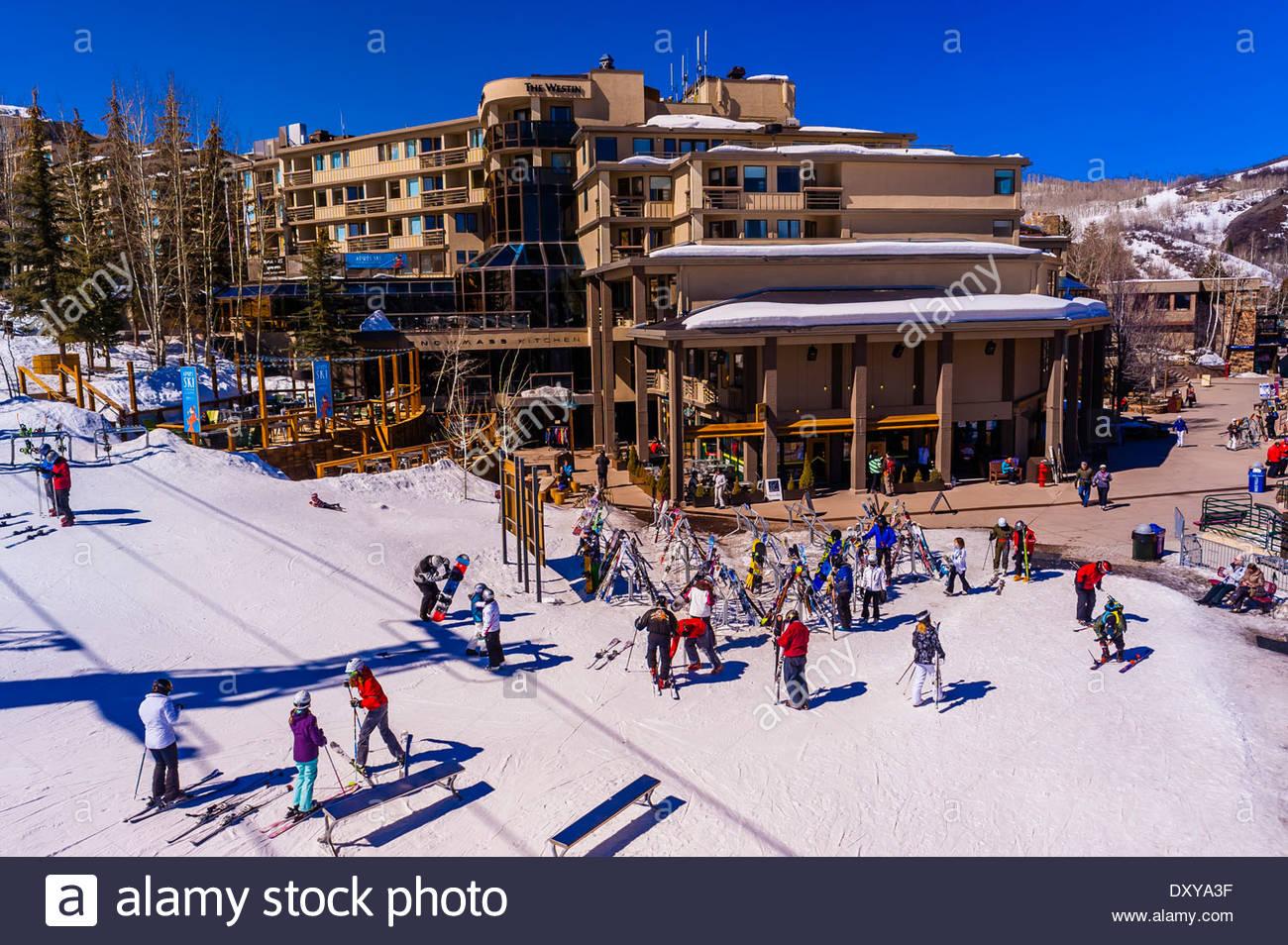 snowmass/aspen ski resort, snowmass village (aspen), colorado usa