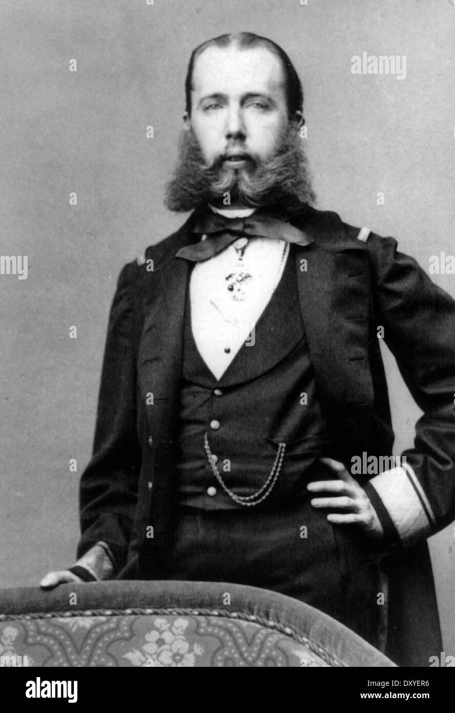 MAXIMILIAN I OF MEXICO (1832-1867) about 1846 - Stock Image