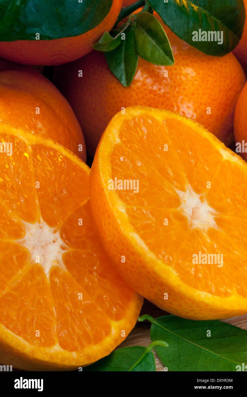 Mandarin oranges - Stock Image