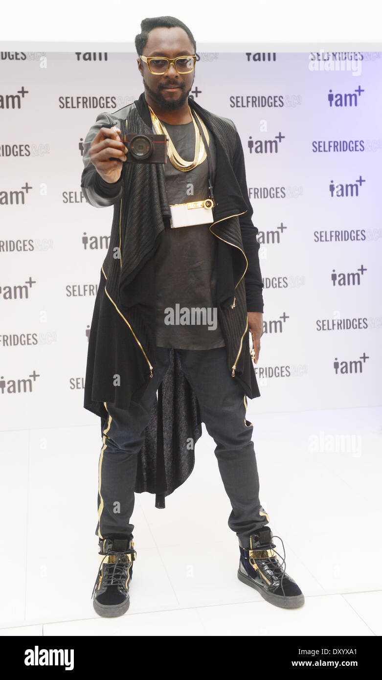 Will I Am Launches I Am Foto Sosho Fashion High Resolution Stock Photography And Images Alamy
