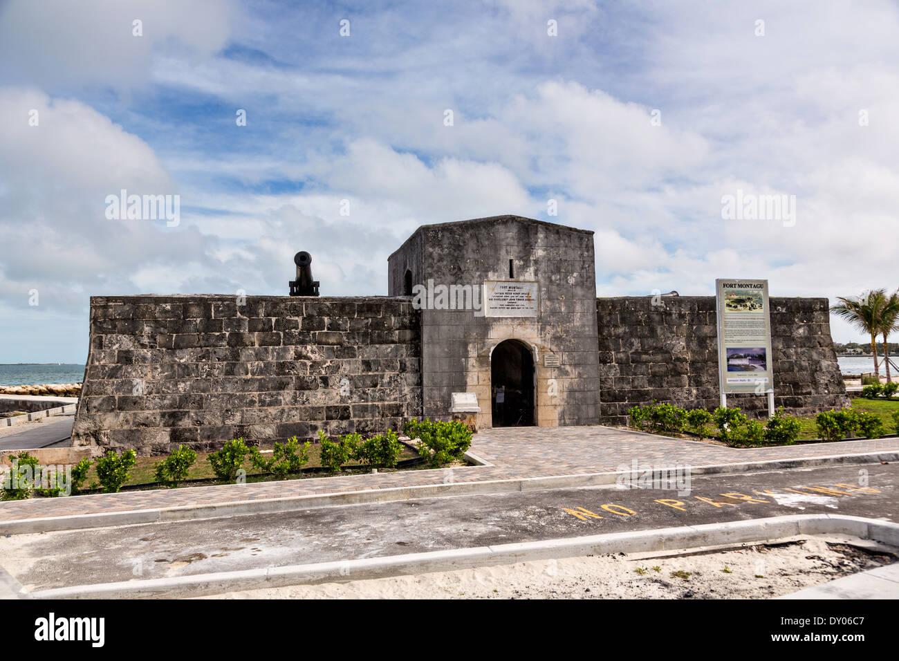 Fort Montagu Nassau, Bahamas. - Stock Image