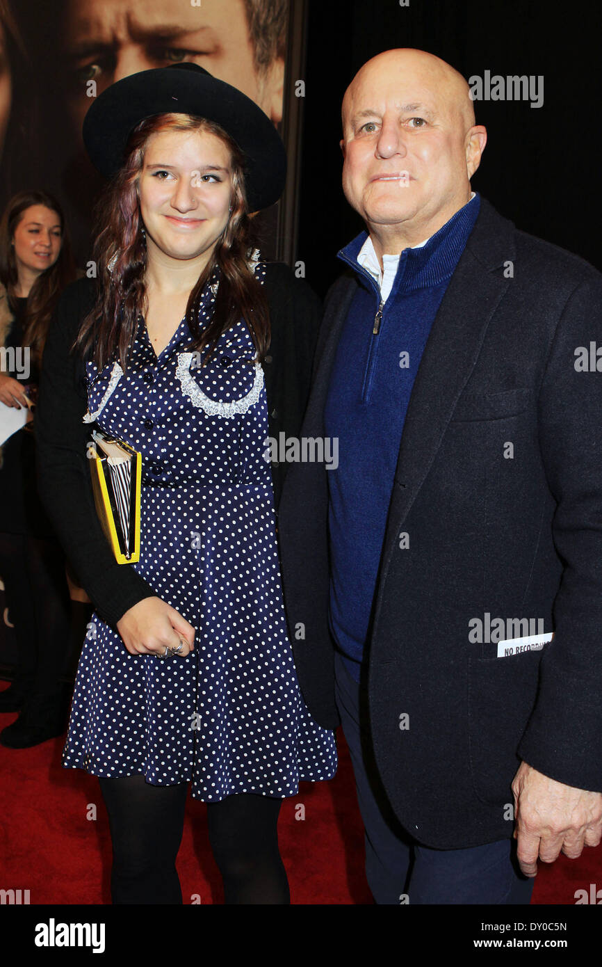 Les Miserables New York Premiere - Arrivals at the Ziegfeld Theatre Featuring: Ronald Perelman,Samantha Perelman Where: New York City NY USA When: 10 Dec 2012 - Stock Image