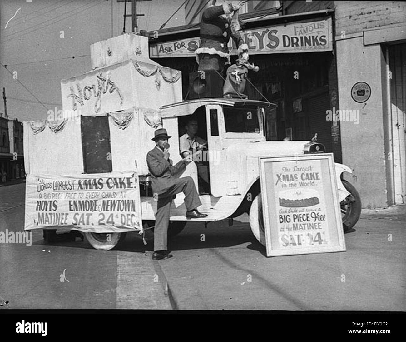 Vintage Christmas Black And White Stock Photos Images