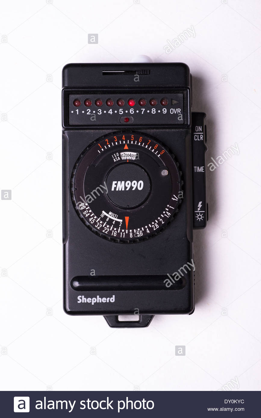 Shepherd FM990 Flash Meter - Stock Image