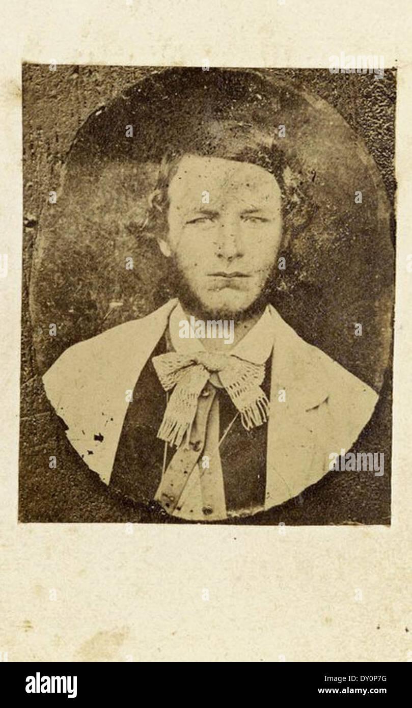 Ben Hall 1863 Carte De Visite Copy Photograph Freeman Brothers Sydney