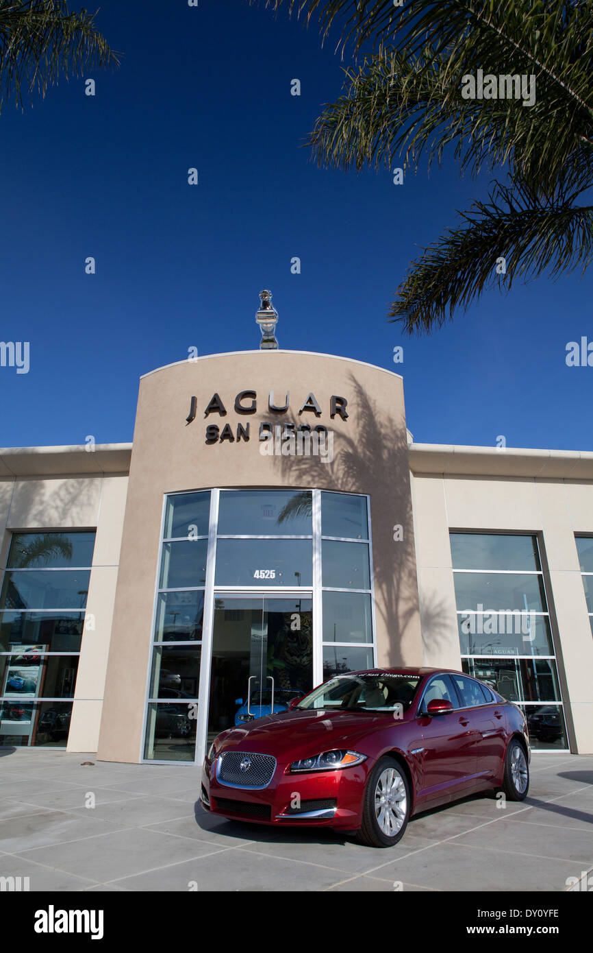 Awesome Brand New Car At The Jaguar San Diego In Kearny Mesa, In March 2013.